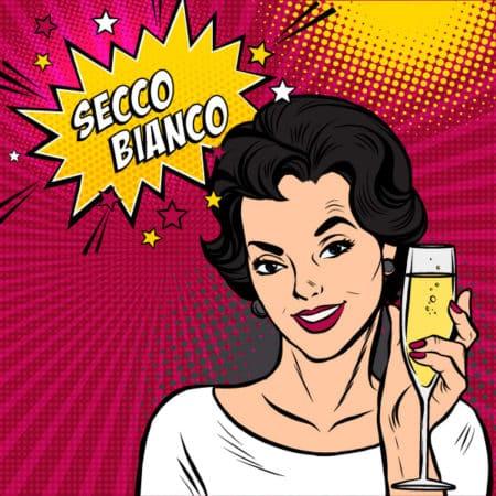 Secco Bianco 200 ml Slimline Can