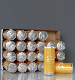 Energy Drink 250 ml Slimline Can