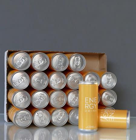 Energy Drink 250 ml Slimline Can