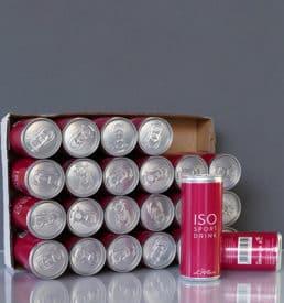 ISO Sportdrink 250 ml Slimline Can