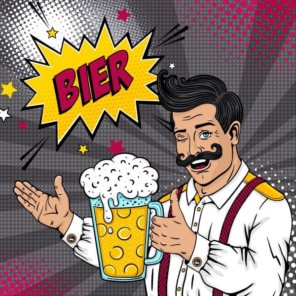 Bier 250 ml Slimline Can