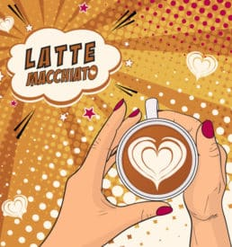 Latte Macchiato 250 ml Slimline Can