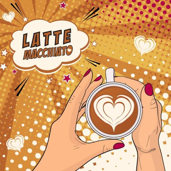 Latte Macchiato 250 ml Slimline Can